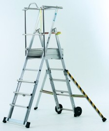 Sherpascopic adjustable work platform