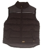 DWC2001 Black Padded Gilet Jacket